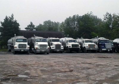 Clearwater delivery trucks - A variety of sizes to suit your needs.